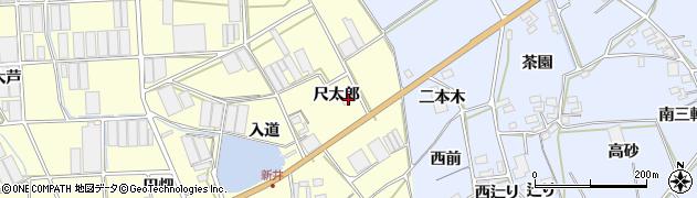 愛知県田原市高松町(尺太郎)周辺の地図