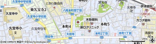大信寺周辺の地図