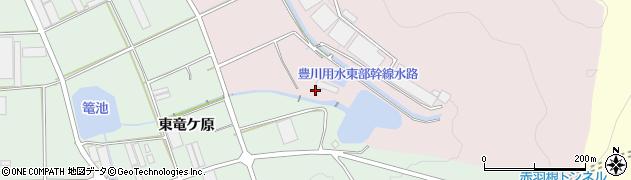 愛知県田原市野田町(東ひるわ)周辺の地図