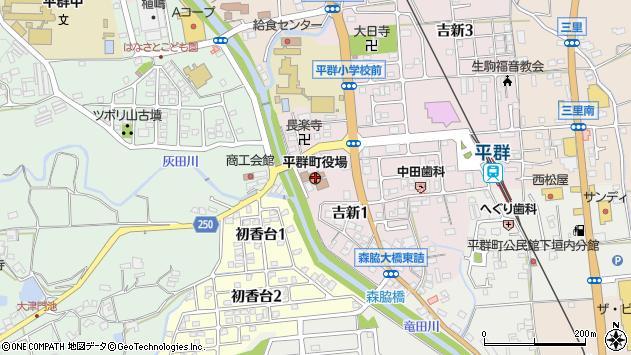 〒636-0000 奈良県生駒郡平群町(以下に掲載がない場合)の地図