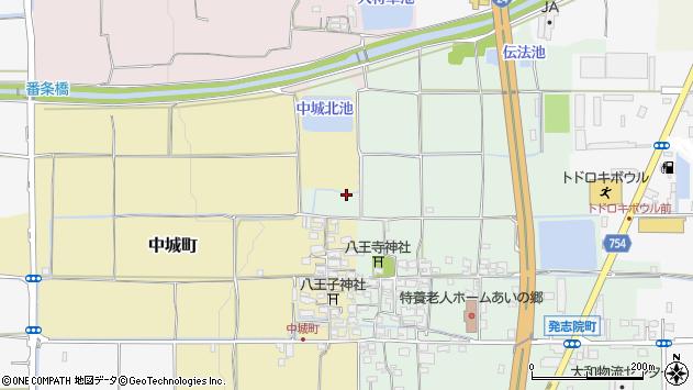 〒639-1119 奈良県大和郡山市発志院町の地図