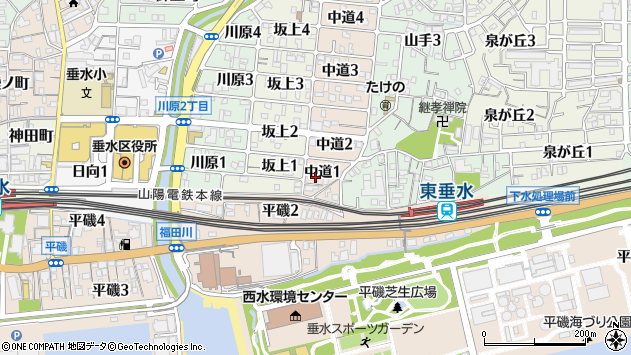 〒655-0896 兵庫県神戸市垂水区中道の地図