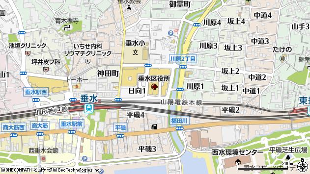 〒655-0000 兵庫県神戸市垂水区(以下に掲載がない場合)の地図
