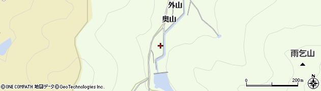 愛知県田原市石神町(奥山)周辺の地図