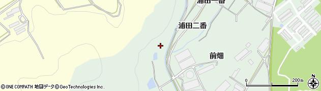 愛知県田原市赤羽根町(浦田二番)周辺の地図