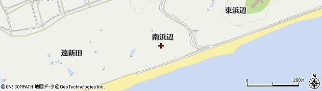 愛知県田原市南神戸町(南浜辺)周辺の地図