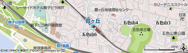 兵庫県神戸市垂水区周辺の地図