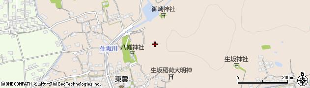 岡山県倉敷市生坂周辺の地図