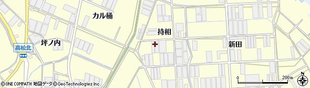 愛知県田原市高松町(持相)周辺の地図