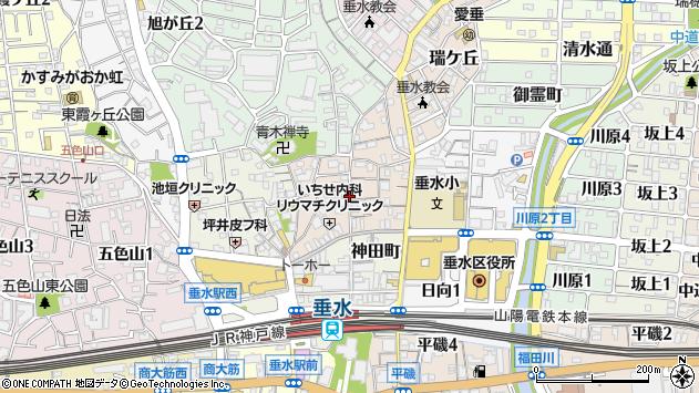 〒655-0026 兵庫県神戸市垂水区陸ノ町の地図