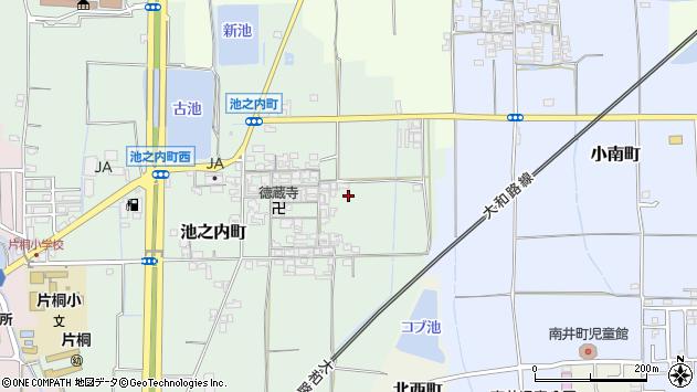 〒639-1027 奈良県大和郡山市池之内町の地図