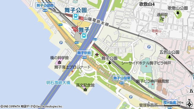 〒655-0047 兵庫県神戸市垂水区東舞子町の地図