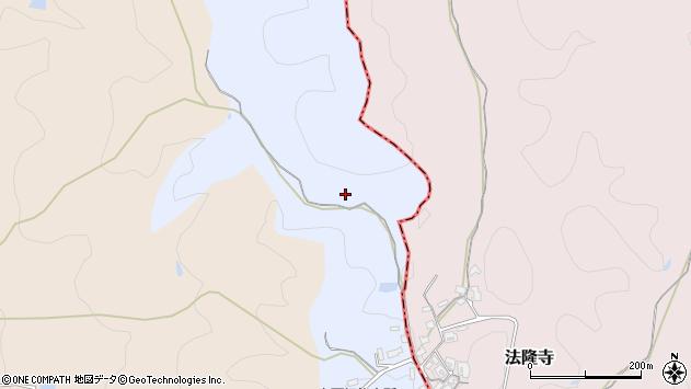 〒636-0902 奈良県生駒郡平群町白石畑の地図