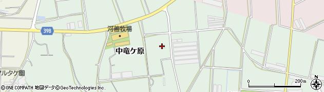 愛知県田原市赤羽根町(中竜ケ原)周辺の地図