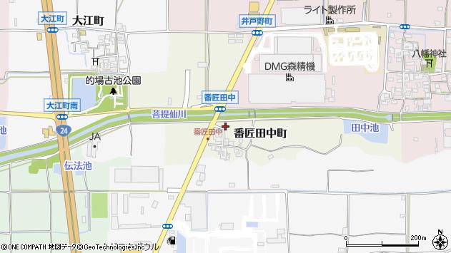 〒639-1105 奈良県大和郡山市番匠田中町の地図