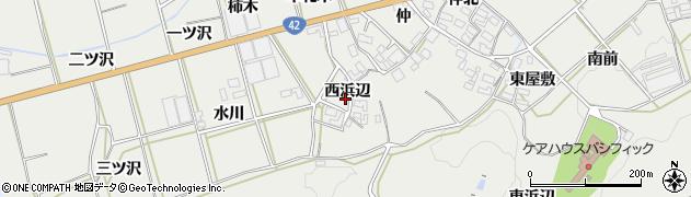 愛知県田原市南神戸町(西浜辺)周辺の地図