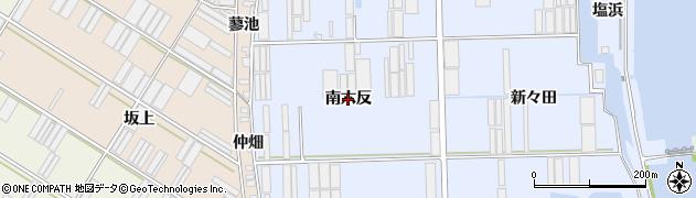 愛知県田原市向山町(南六反)周辺の地図