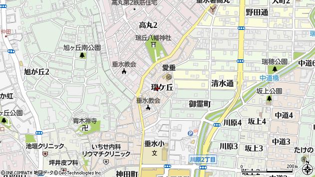 〒655-0025 兵庫県神戸市垂水区瑞ケ丘の地図