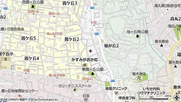 〒655-0034 兵庫県神戸市垂水区仲田の地図