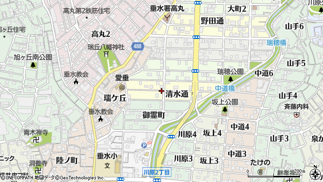 〒655-0023 兵庫県神戸市垂水区清水通の地図