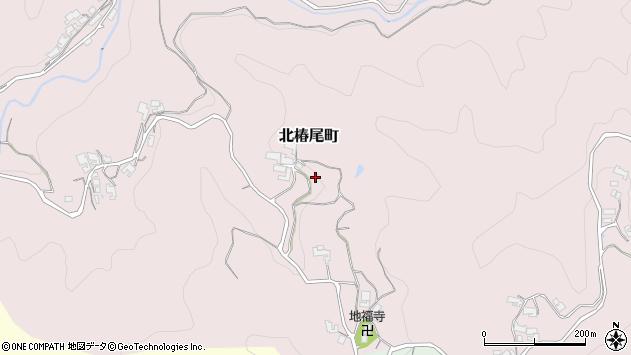 〒630-8405 奈良県奈良市北椿尾町の地図