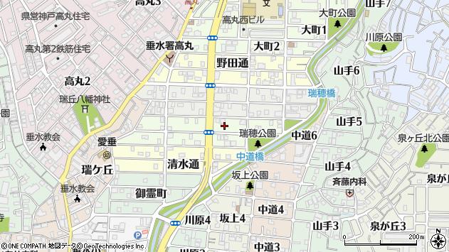 〒655-0022 兵庫県神戸市垂水区瑞穂通の地図