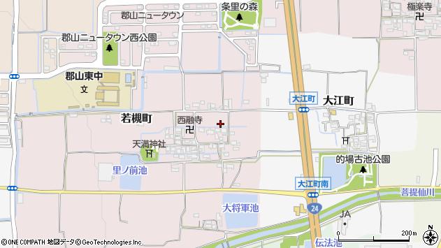 〒639-1107 奈良県大和郡山市若槻町の地図