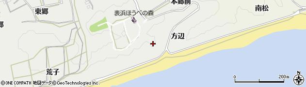 愛知県田原市南神戸町(方辺)周辺の地図