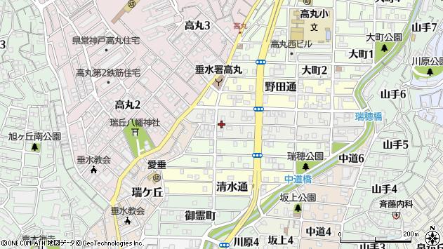 〒655-0021 兵庫県神戸市垂水区馬場通の地図