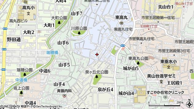 〒655-0886 兵庫県神戸市垂水区東垂水の地図