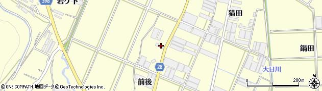 愛知県田原市高松町(前後)周辺の地図