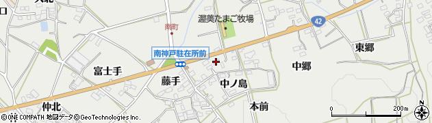 愛知県田原市南神戸町(竪障子)周辺の地図