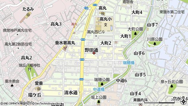 〒655-0015 兵庫県神戸市垂水区野田通の地図