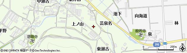 愛知県田原市石神町(東瀬古)周辺の地図