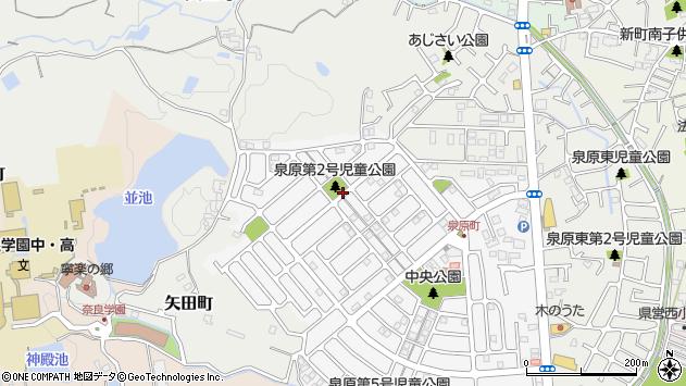〒639-1056 奈良県大和郡山市泉原町の地図