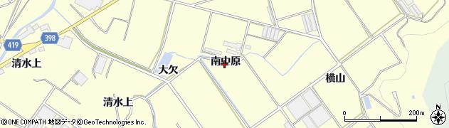 愛知県田原市八王子町(南中原)周辺の地図