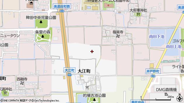 〒639-1106 奈良県大和郡山市大江町の地図
