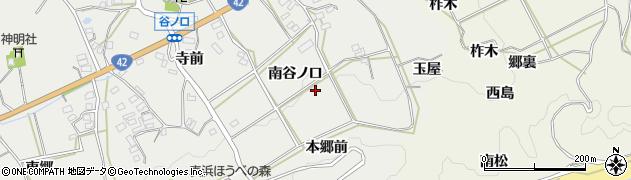 愛知県田原市南神戸町(南谷ノ口)周辺の地図