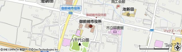 静岡県御前崎市周辺の地図