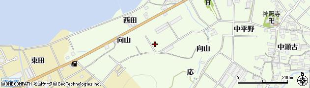 愛知県田原市石神町(西原)周辺の地図