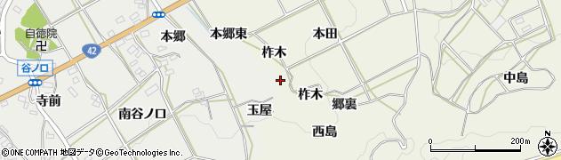愛知県田原市東神戸町(玉屋)周辺の地図