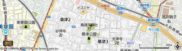 見性寺周辺の地図