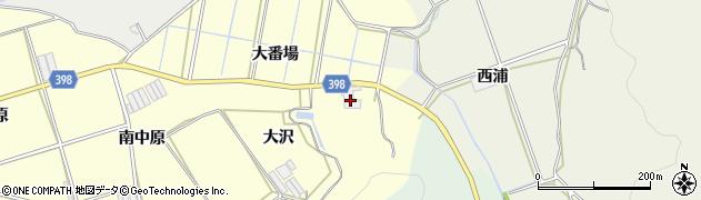 愛知県田原市八王子町(大番場)周辺の地図