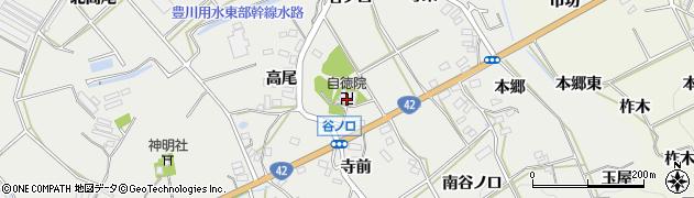 愛知県田原市南神戸町(高畑)周辺の地図