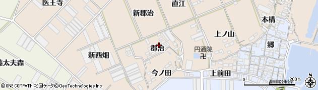 愛知県田原市福江町(郡治)周辺の地図