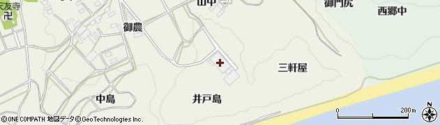 愛知県田原市東神戸町(井戸島)周辺の地図