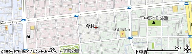 岡山県岡山市北区今村周辺の地図