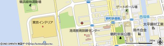 大阪府大阪市大正区鶴町周辺の地図