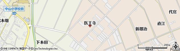 愛知県田原市福江町(医王寺)周辺の地図