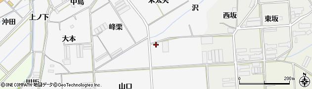 愛知県田原市伊川津町(原)周辺の地図